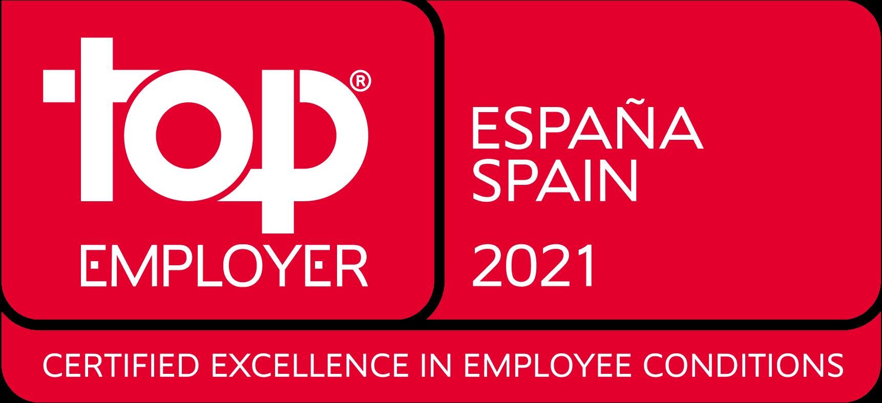 Top Employer Spain