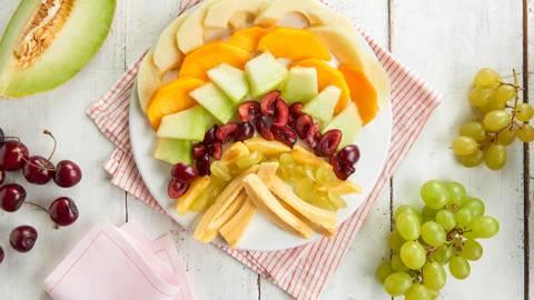 Ensalada de frutas para el Baby Led Weaning