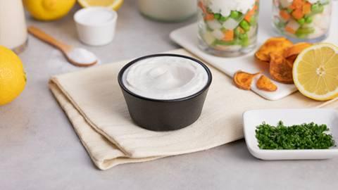 Salsa mayonesa vegana