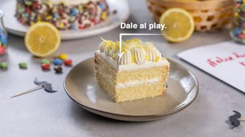 Tarta de limón y mascarpone