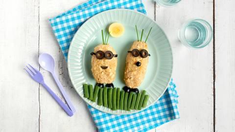 Croquetas de quinoa y pollo