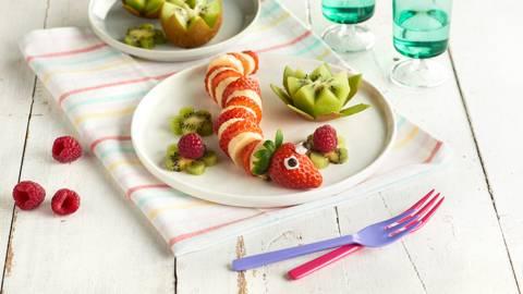 Serpiente de frutas