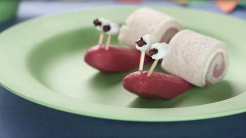 Caracoles de salchicha