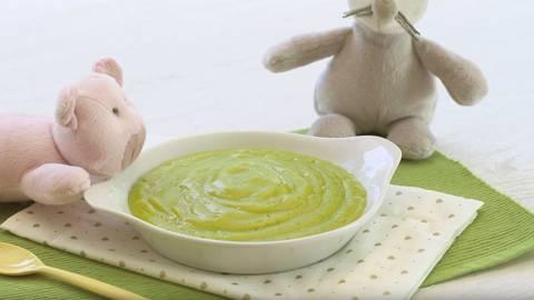 Puré de judías verdes y patatas