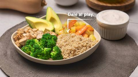 Plato combinado de verduras
