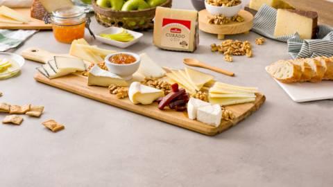 Cómo montar una tabla de quesos