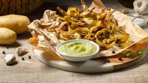 Chips de piel de patata