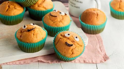 Muffins caseros de boniato y dátiles