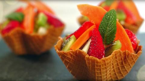 Tulipas de fruta