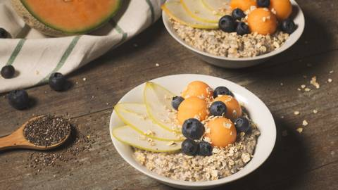 Porridge de melón