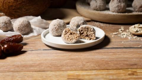 Dulces vegetarianos de coco