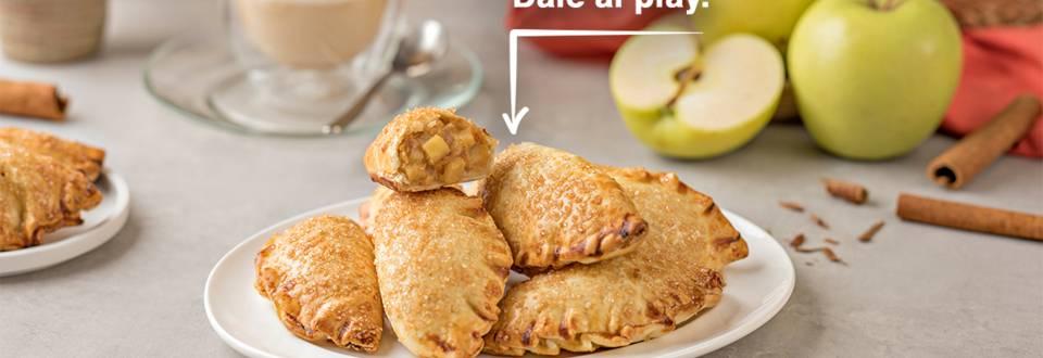 Cómo hacer empanadillas de manzana