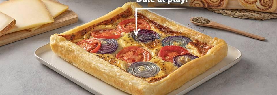 Cómo hacer quiche de cebolla y tomate
