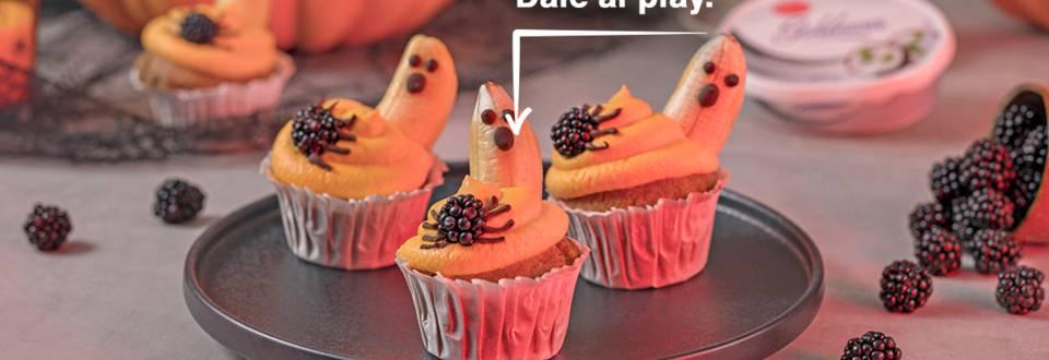 Cómo hacer cupcakes terroríficos