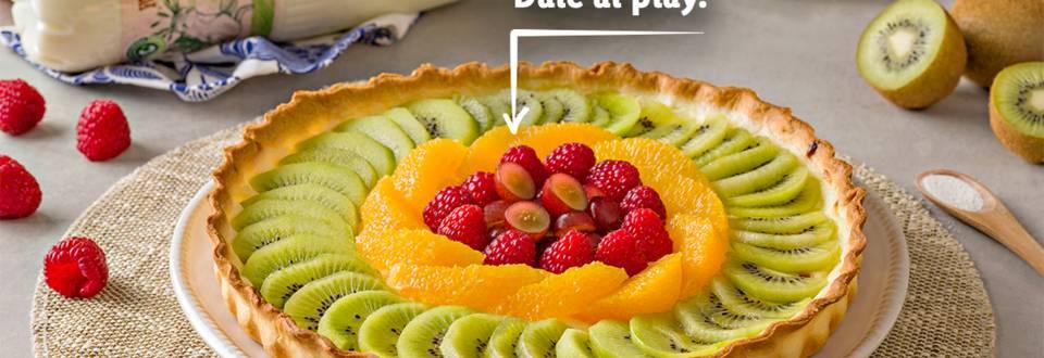 Cómo hacer tartaleta de frutas