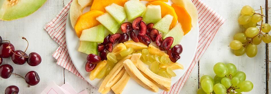Receta de ensalada de frutas para el Baby-Led Weaning