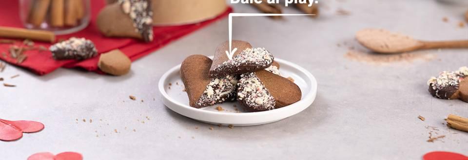 Cómo hacer galletas de mantequilla y cacao
