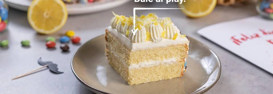 Cómo hacer tarta de limón y mascarpone
