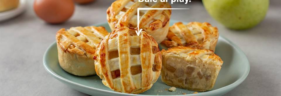 Cómo hacer mini tartaletas de manzana