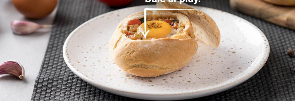 Cómo hacer huevos al nido con pisto