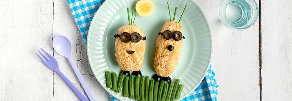 Receta de croquetas, quinoa y pollo