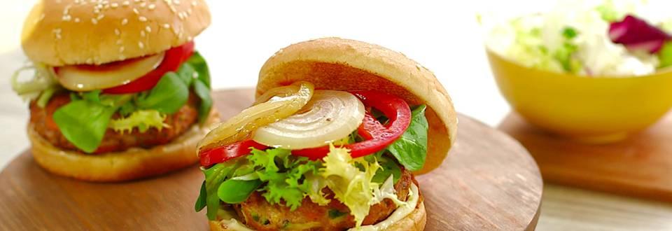 Cómo hacer hamburguesas con verduras