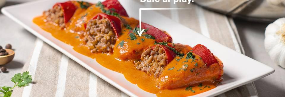 Cómo hacer pimientos rellenos de carne