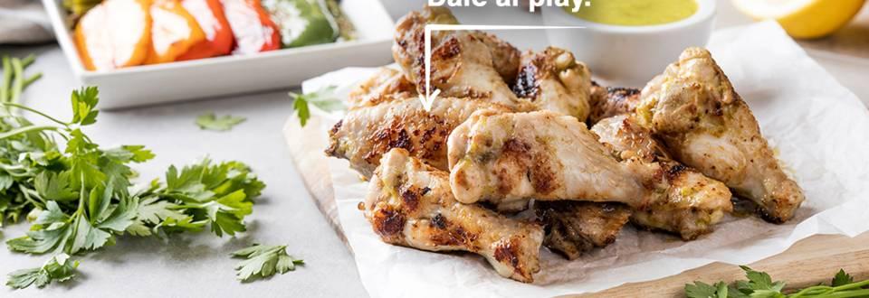 Cómo hacer alitas de pollo a la barbacoa