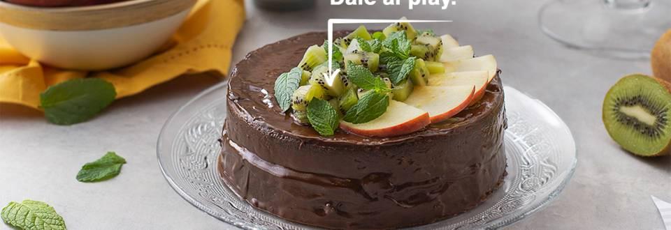 Cómo hacer un pastel pasión por chocolate