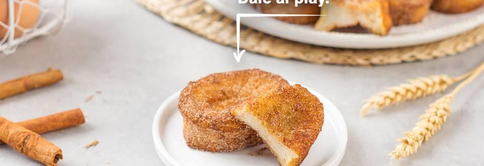 Cómo hacer torrijas caseras