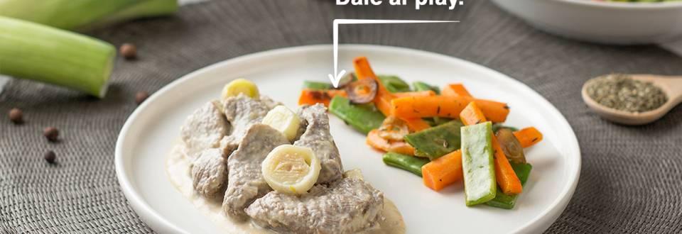 Cómo hacer ternera con verduras salteadas