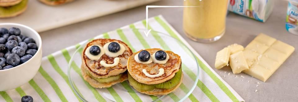 Cómo hacer un desayuno con pancakes