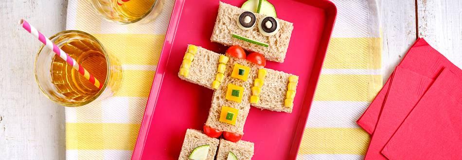 Cómo hacer sándwich vegetal