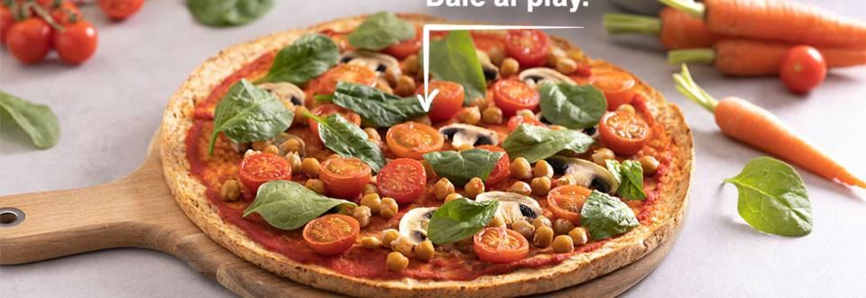 Cómo hacer pizza vegana de verduras