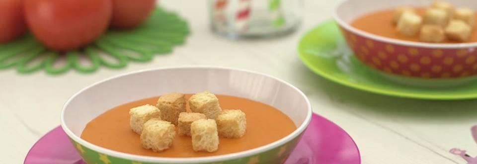 Cómo hacer sopa de tomate fresco