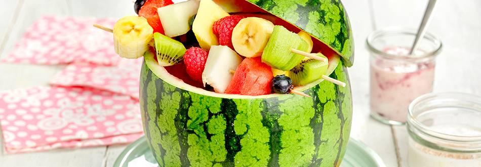Cómo hacer macedonia de frutas