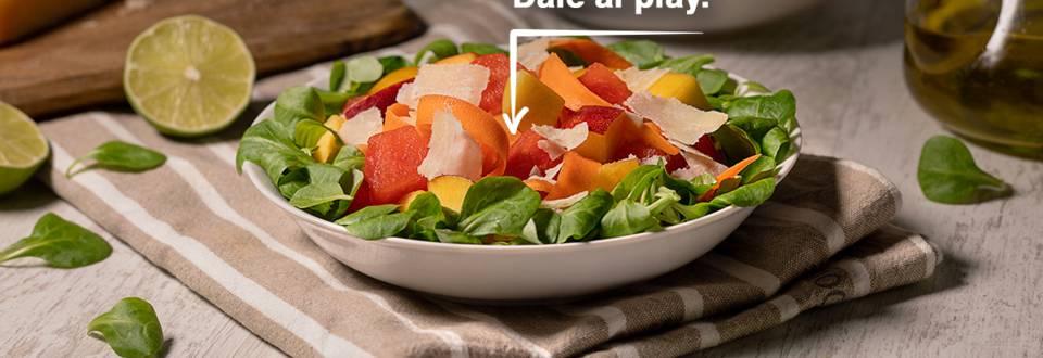 Cómo hacer ensalada con frutas de temporada