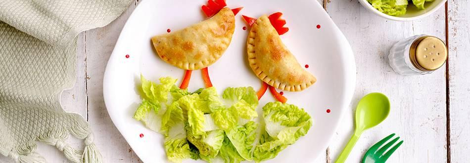 Cómo hacer empanadillas caseras de verduras y pollo