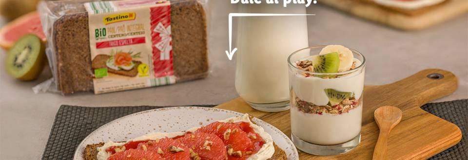 Cómo hacer un desayuno con productos bio