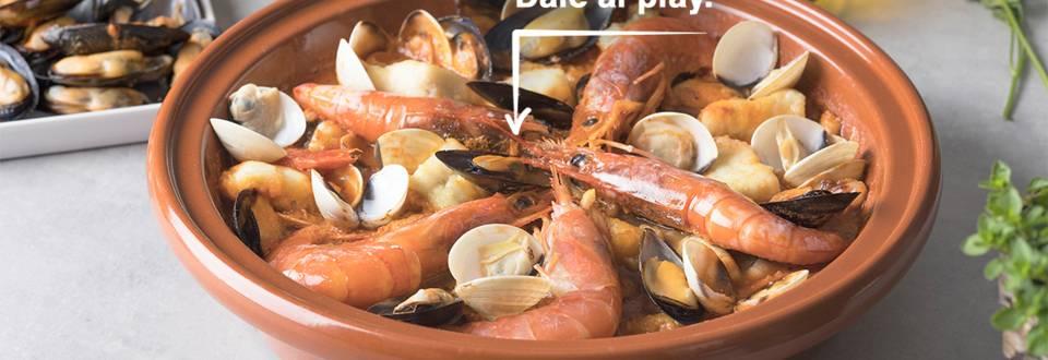 Cómo hacer zarzuela de marisco y pescado
