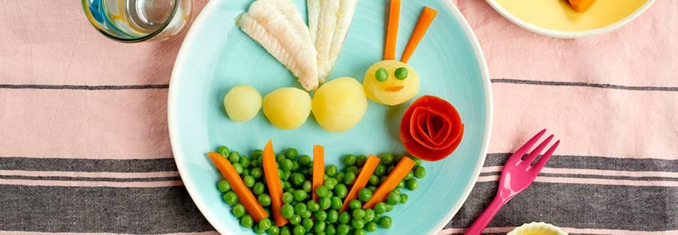 Receta de pescado con guisantes y patata
