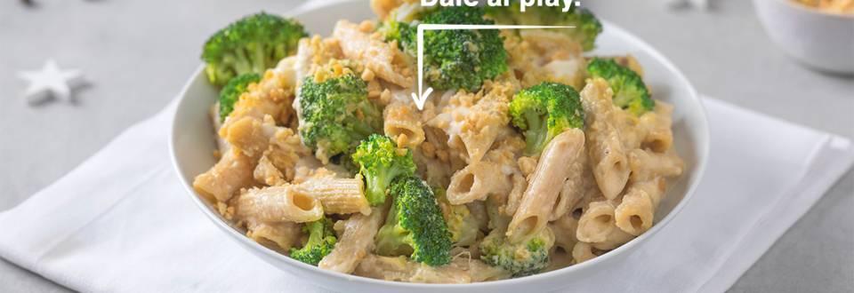 Cómo hacer macarrones con queso y brócoli