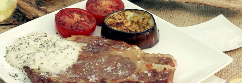 Cómo hacer entrecot y salsa grana padano