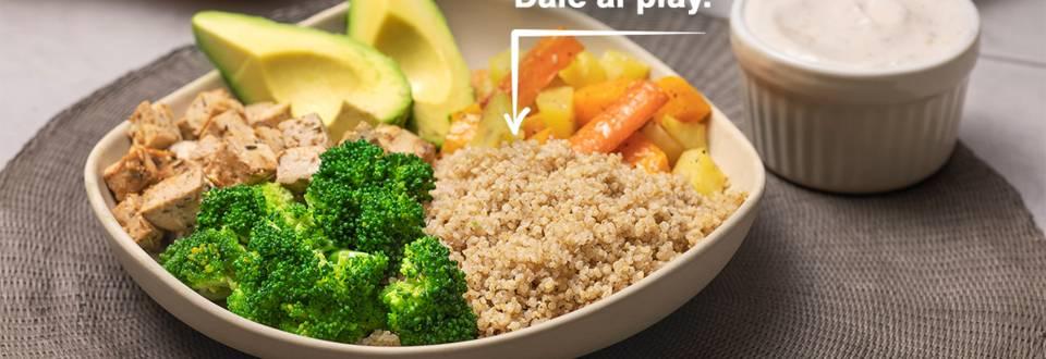 Cómo hacer un plato combinado de verduras