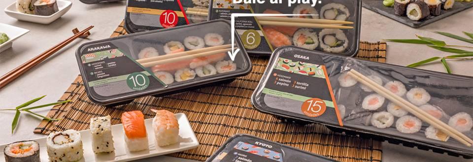 Cómo emplatar sushi