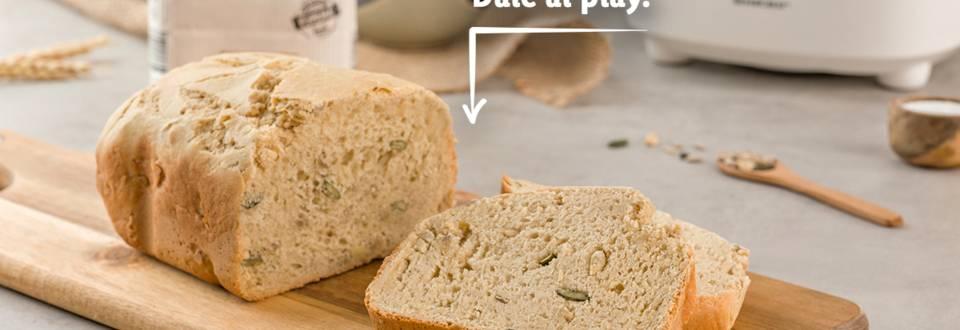 Cómo hacer pan de pipas y piñones