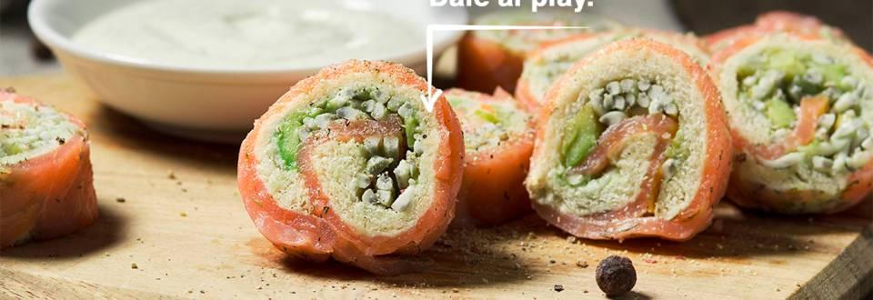 Cómo hacer canapés de salmón y delicias del mar