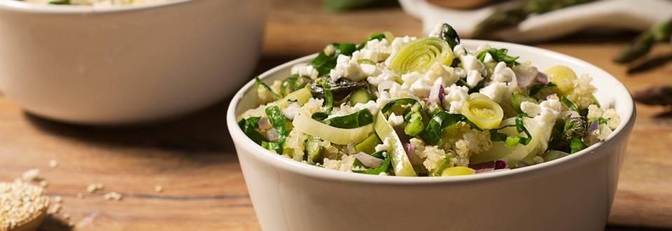 Cómo hacer quinoa con verduras