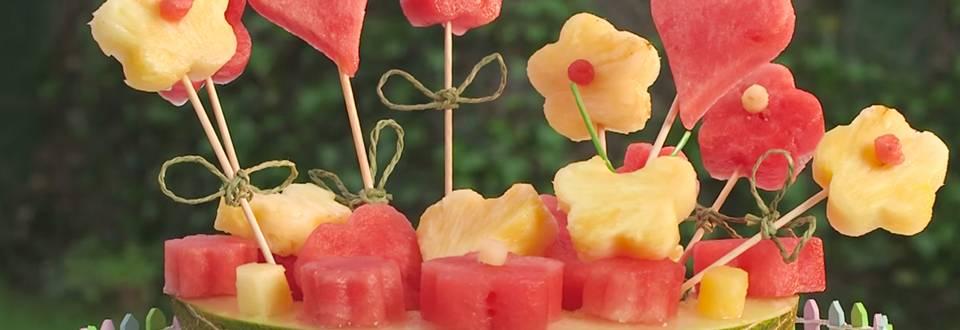 Cómo hacer jardín de fruta