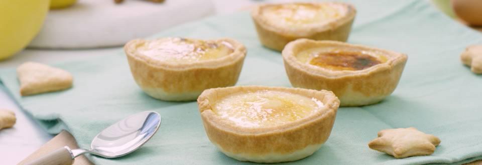 Cómo hacer tartaletas de crema catalana